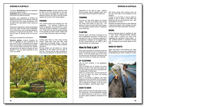 9_fruit picking_ebook Australian Backpackers Guide