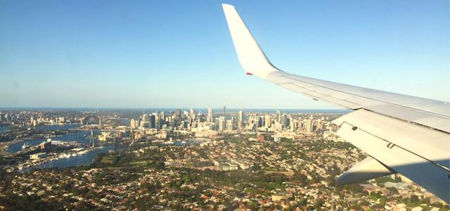Ankunft in Australien