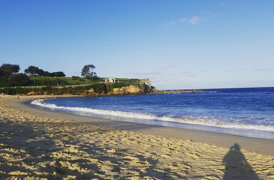 Ankunft in Sydney_Beach