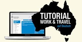 Australien work and travel tutoriel