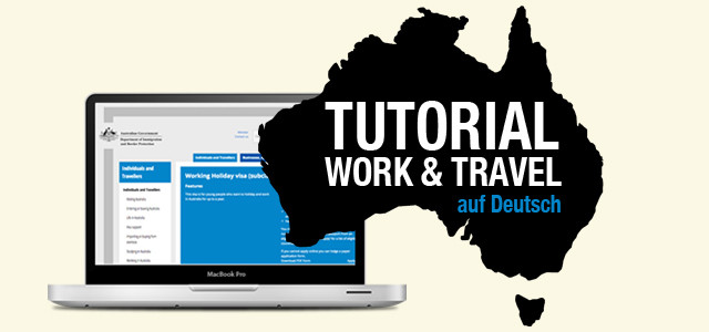 Australien Working Holiday Visum beantragen – Tutorial