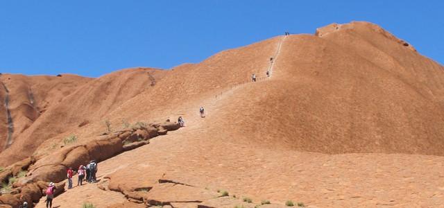 Uluru – Hoch wandern oder nicht?