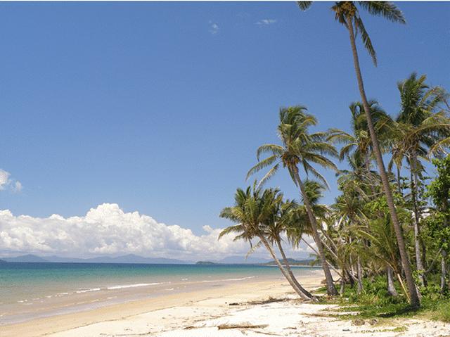 Strände in Australien Mission beach