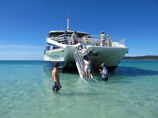 Whitsunday islands boot