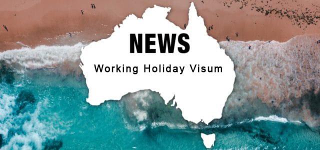 Aenderungen Working Holiday Visum