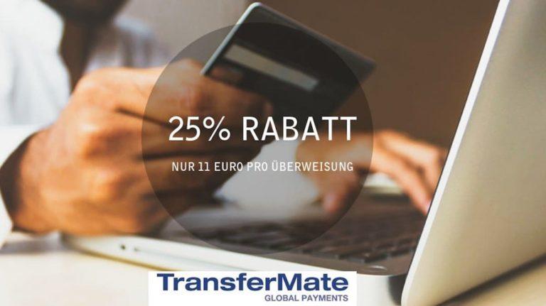 Geld nach Australien überweisen – 25% Rabatt mit TransferMate