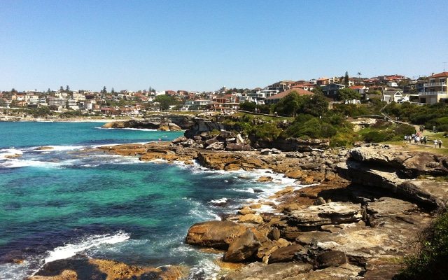 Sehenswuerdigkeiten in Sydney Bondi-Walk