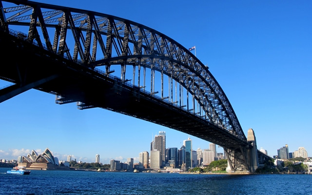 Sehenswuerdigkeiten in Sydney Harbour Bridge