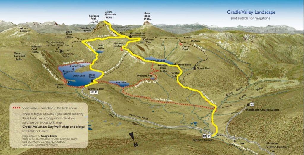cradle mountain route 3