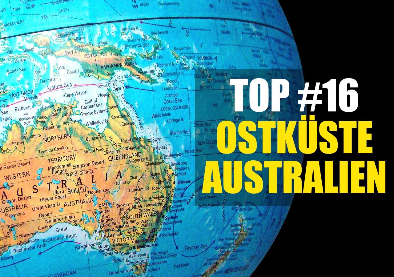 Karte Australien Und Umgebung.Must Sees Diese Orte Solltest Du An Der Ostküste Australien Auf