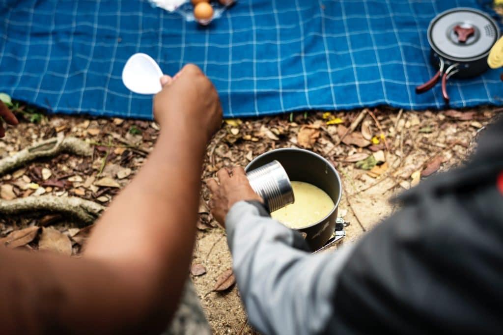 camping australien essen