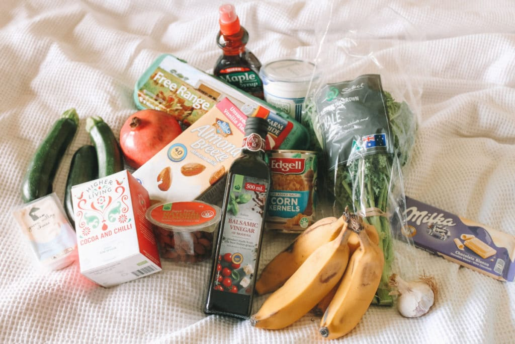 Lebensmittel kosten roadtrip